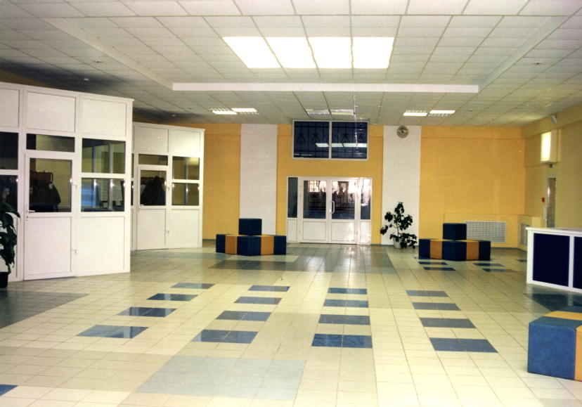 Дизайн фойе школ фото
